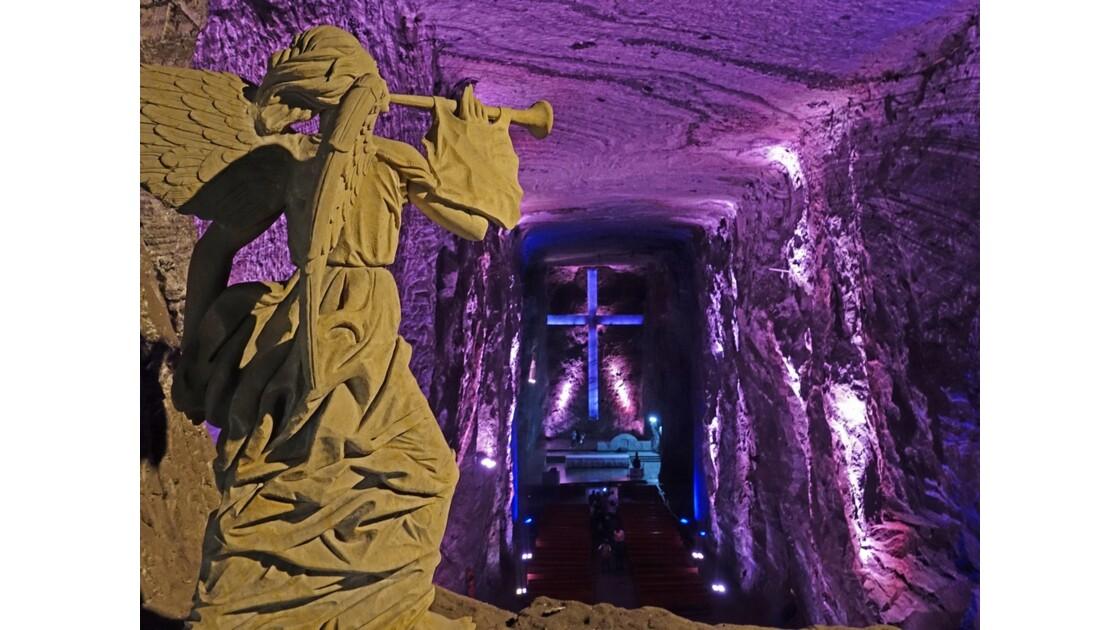 Colombie Zipaquira Catedral del Sal Archange Gabriel 1
