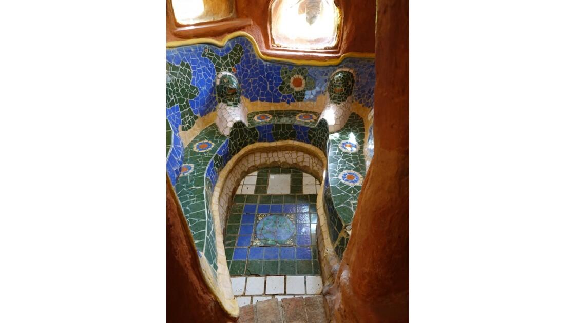 Colombie Villa de Leyva Casa Terracota Les douches 3