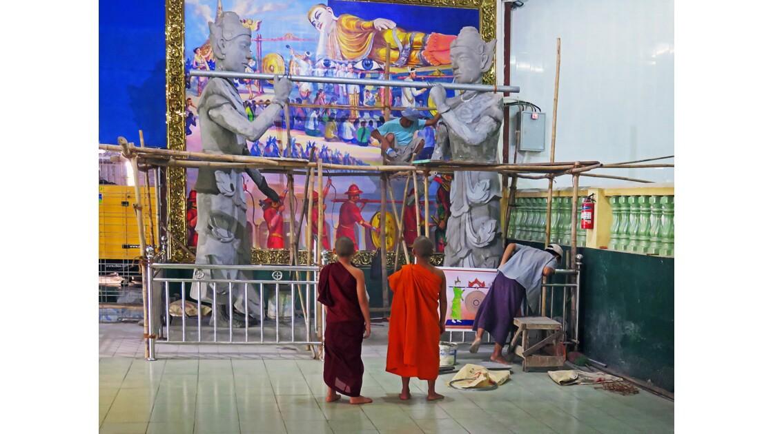Htat Gyi Paya,Yangon,Birmanie,Burma