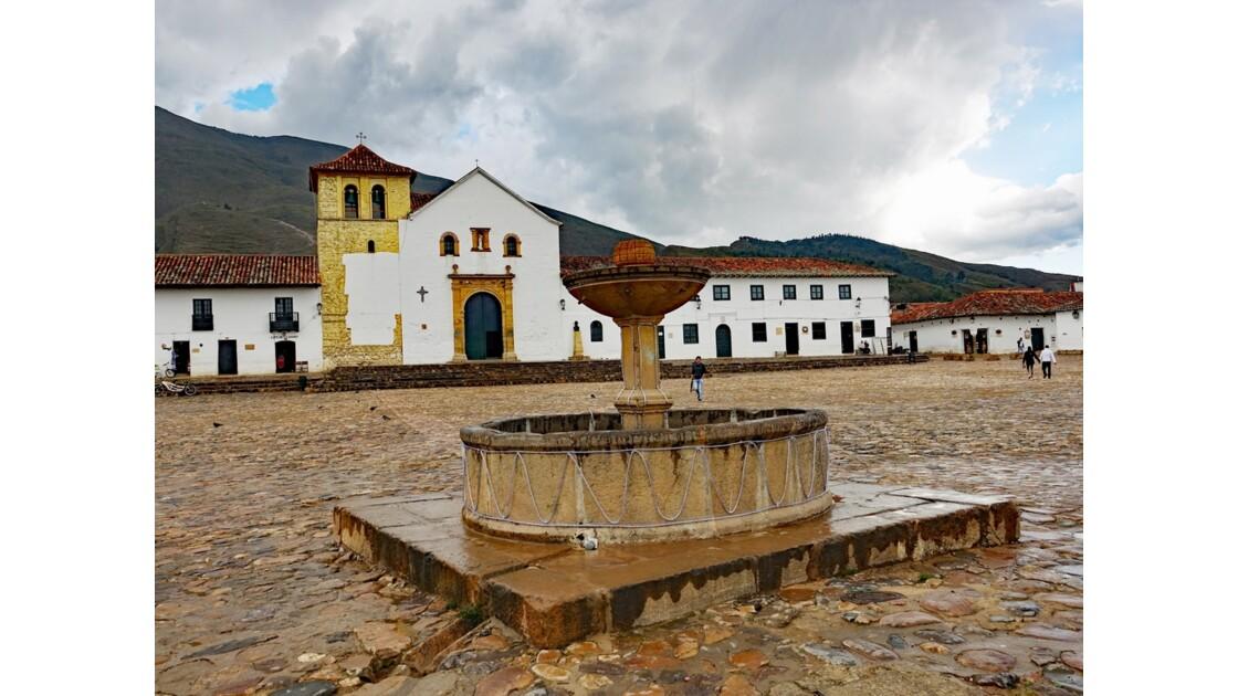 Colombie Villa de Leyva Fontaine mudéjare