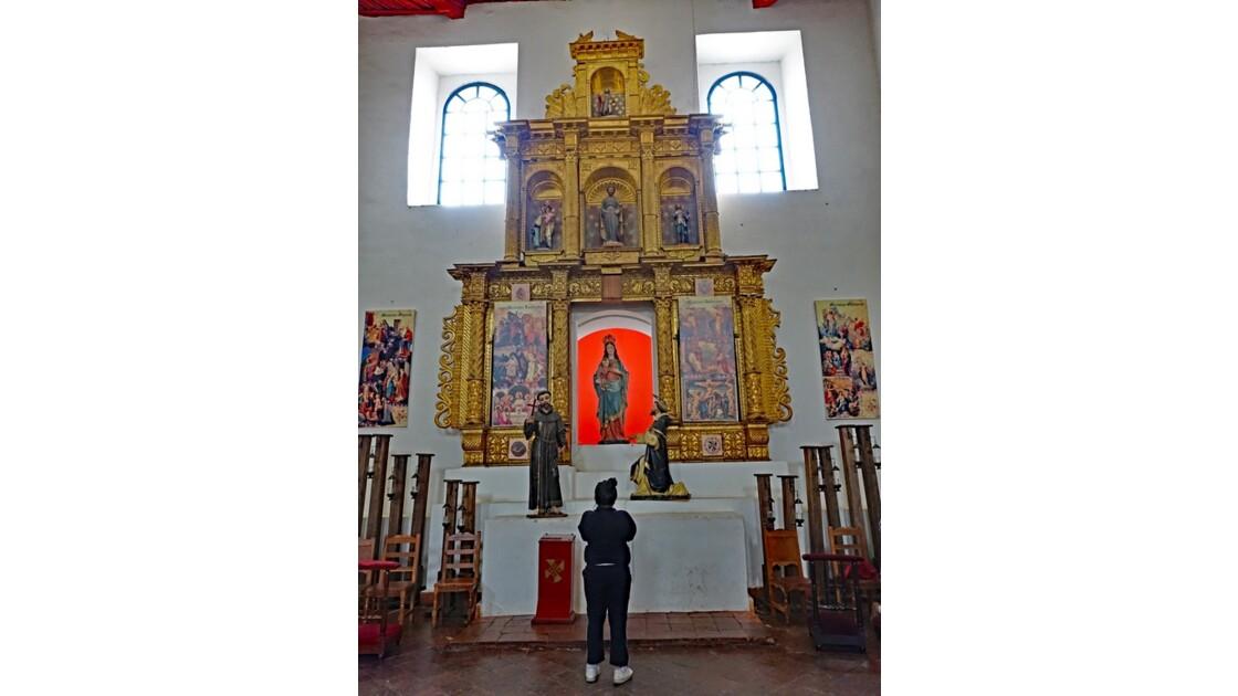 Colombie Villa de Leyva Parroquia Nuestra Senora del Rosario 2