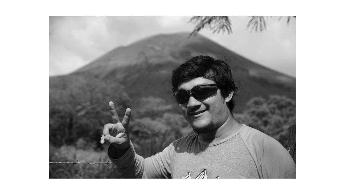 L'ascension du volcan Telica
