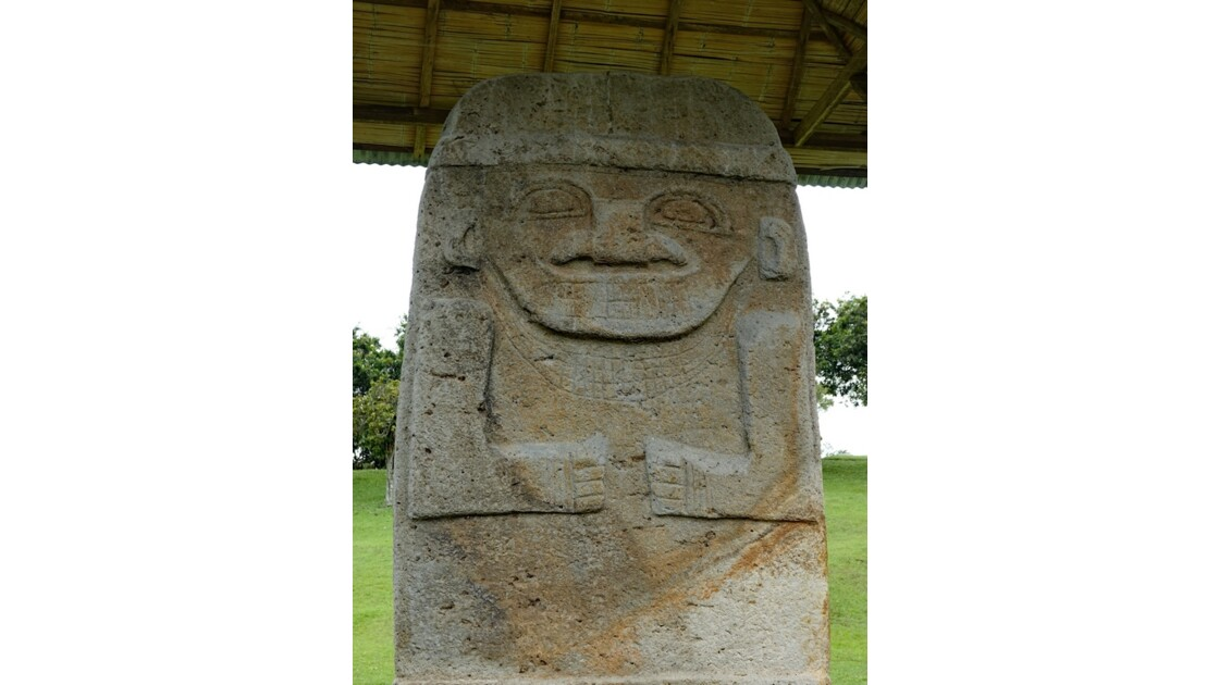 Colombie Alto de Los Idolos Statue la plus haute 3