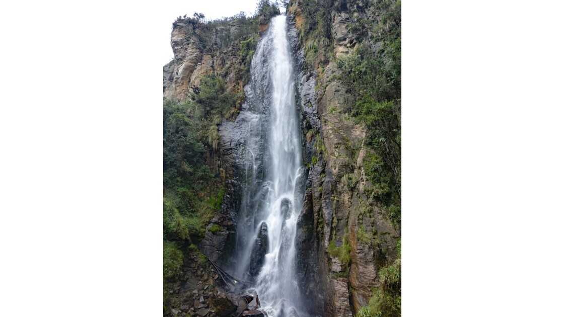 Colombie parc natural del Puracé Cascada Calaguala 1