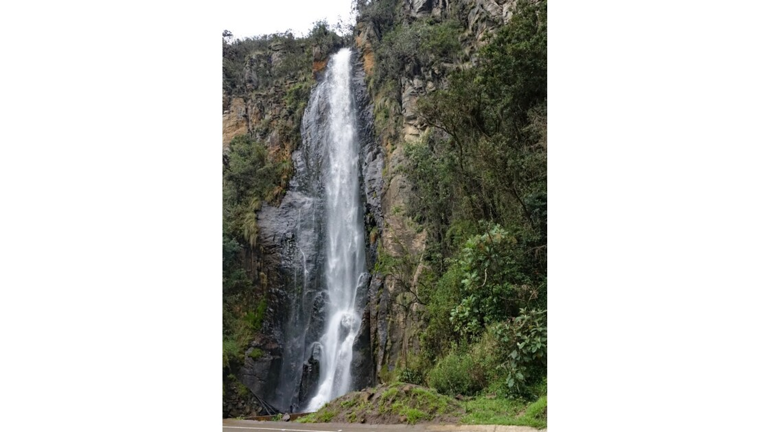 Colombie parc natural del Puracé Cascada Calaguala 2
