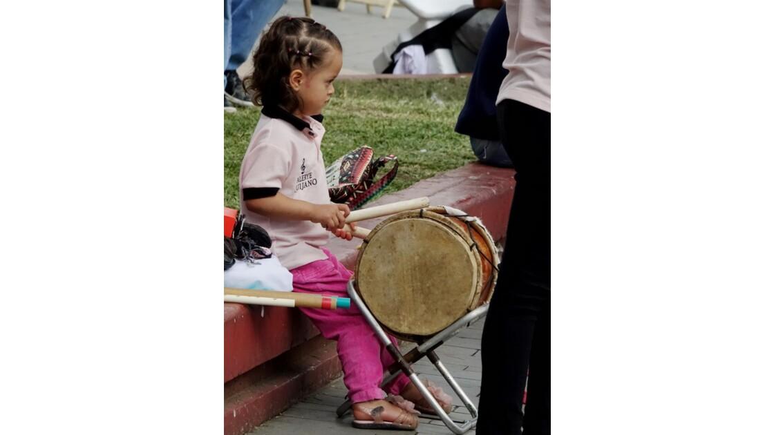 Colombie Popayan Musique au Parque Francisco José de Caldas 2