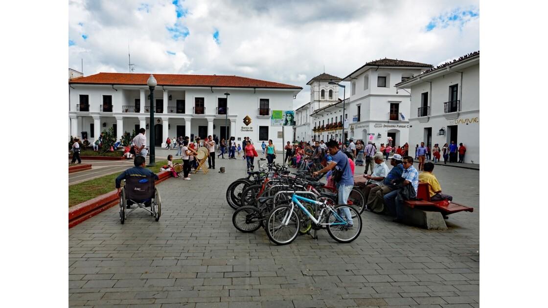 Colombie Popayan Musique au Parque Francisco José de Caldas 5