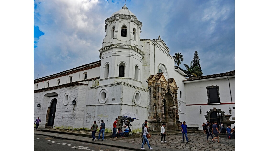 Colombie Popayan Iglesia de Santo Domingo 2