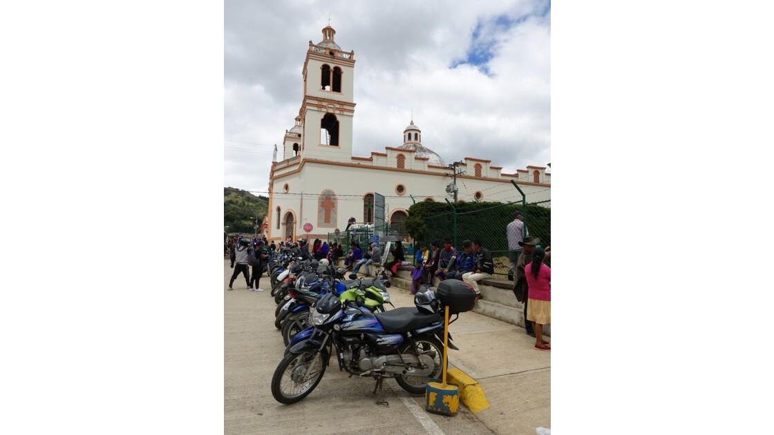 Colombie Silvia Place centrale l'église 2