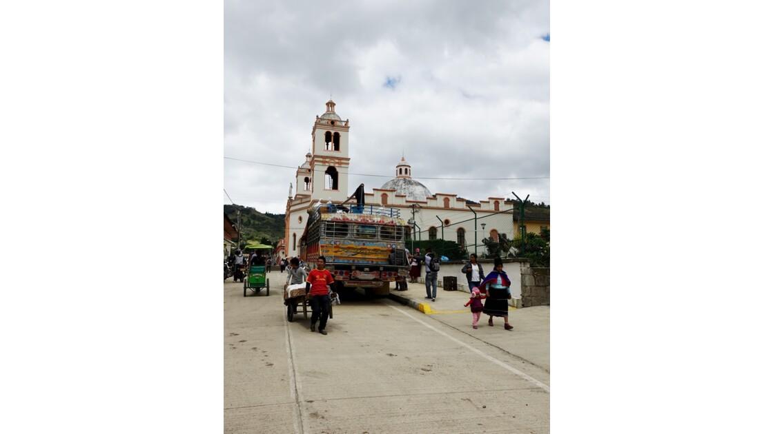Colombie Silvia Place centrale l'église 3
