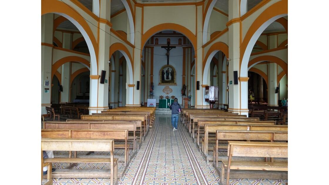 Colombie Silvia Place centrale l'église 4