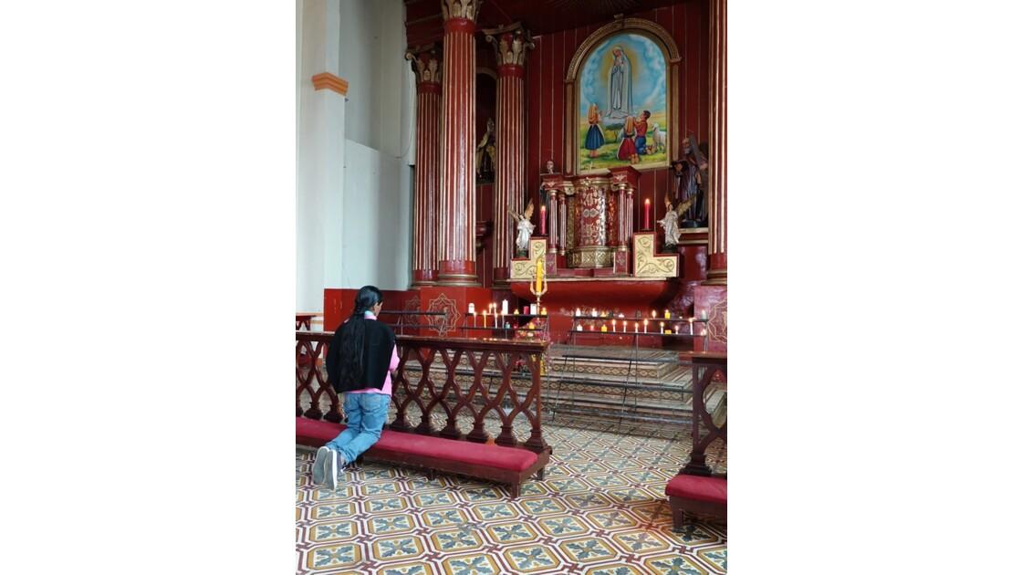 Colombie Silvia Place centrale l'église 6