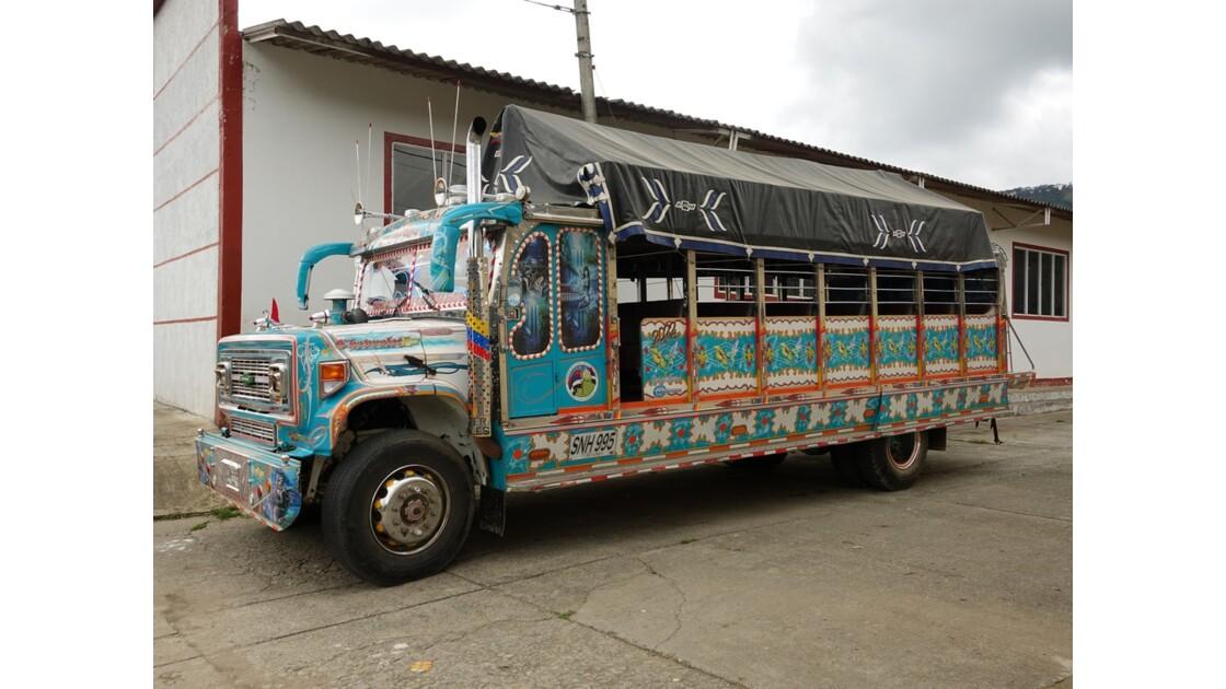 Colombie Les Chivas de Silvia 9