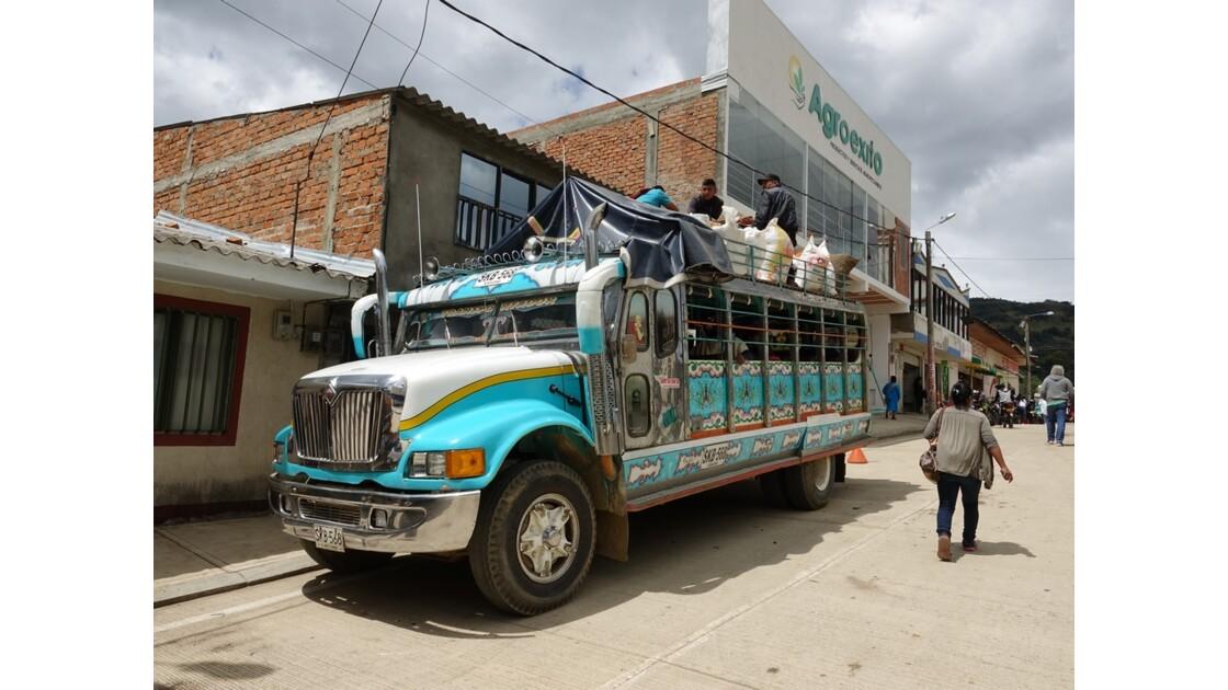 Colombie Les Chivas de Silvia 12