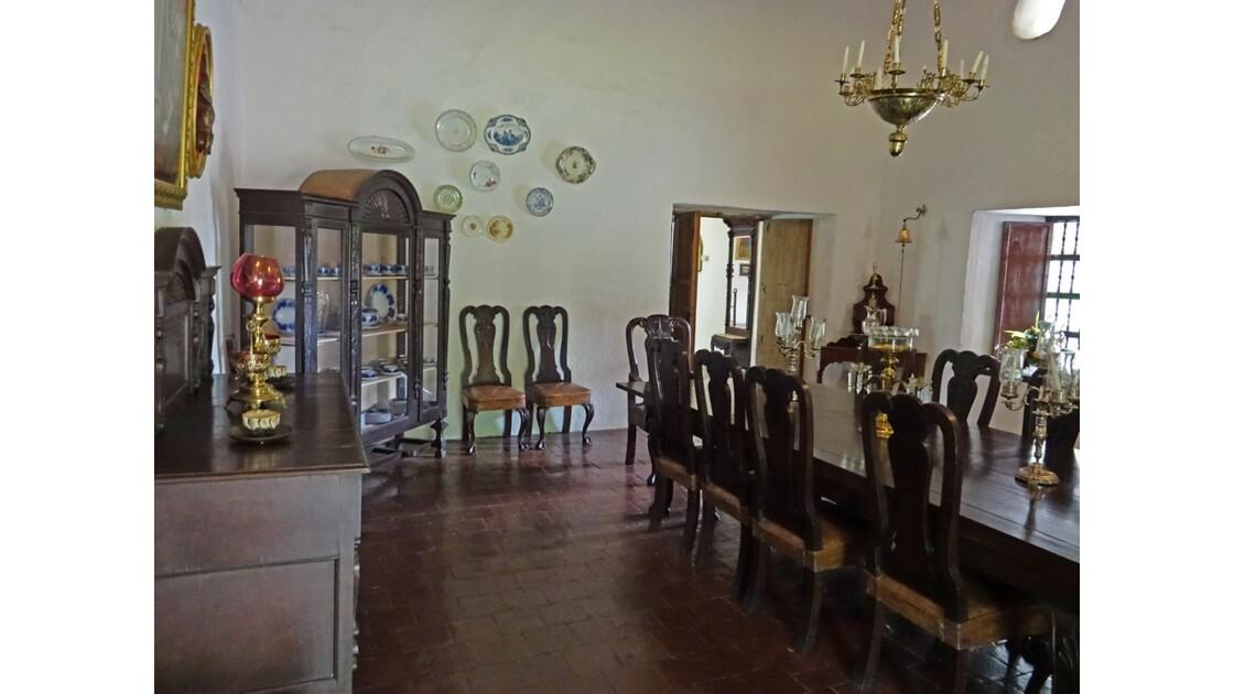 Colombie Hacienda Piedechinche Casa Colonial Salle à manger 2