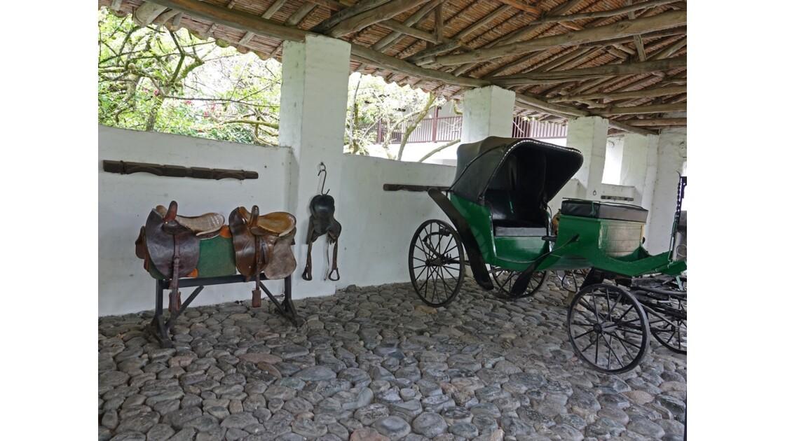 Colombie Hacienda Piedechinche l'écurie 1