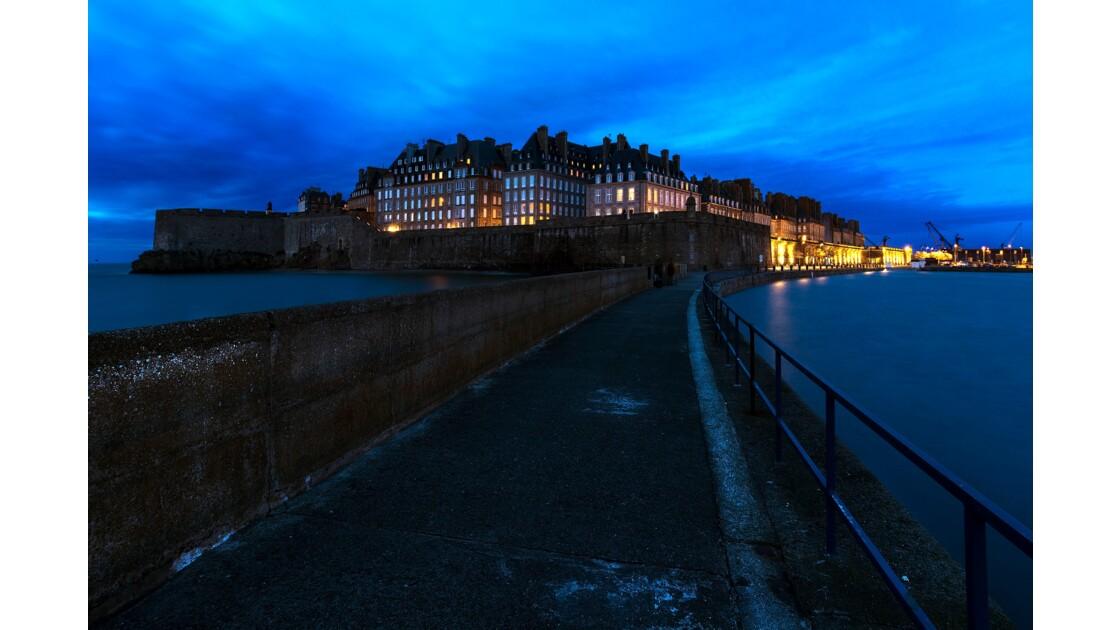 Saint-Malo à l'heure bleue