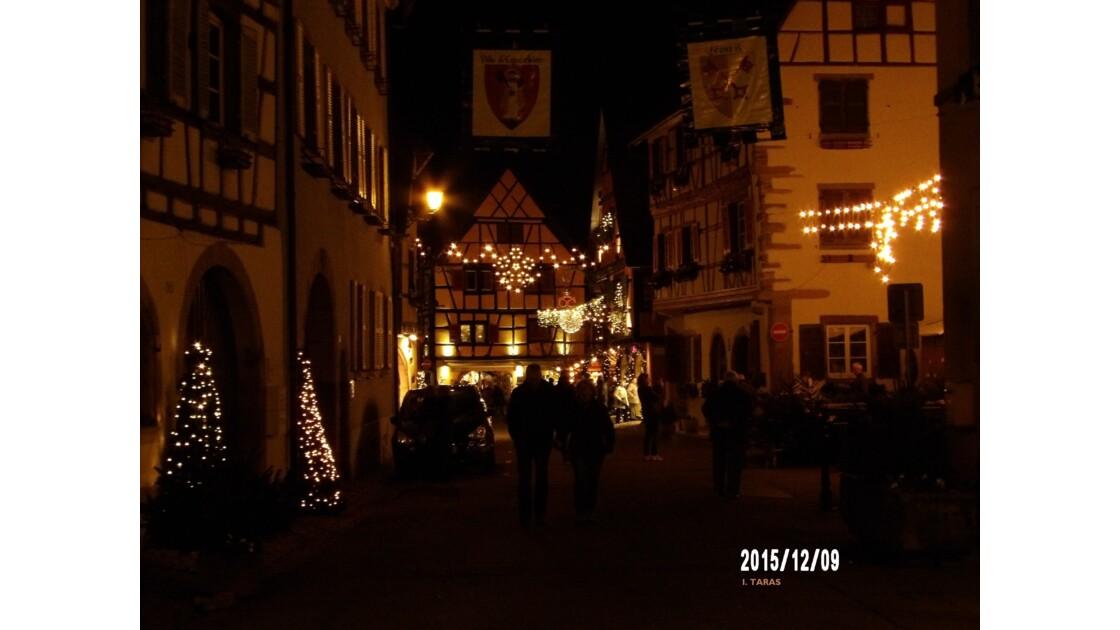 Marché de Noël 2015 à Eguisheim
