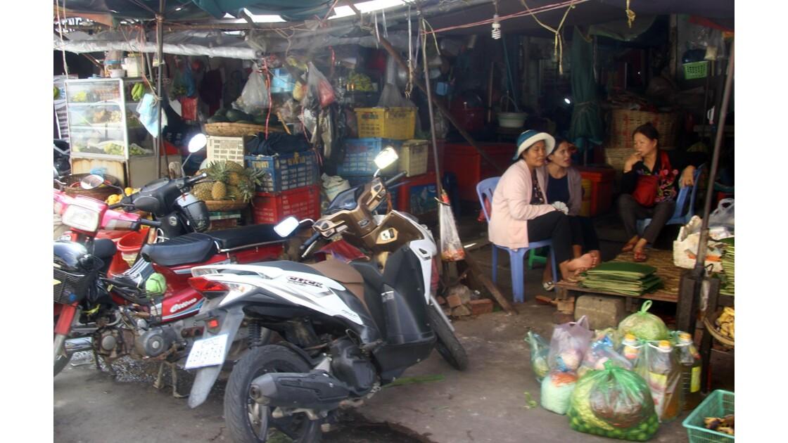 Marché à Phnom Penh, Cambodge