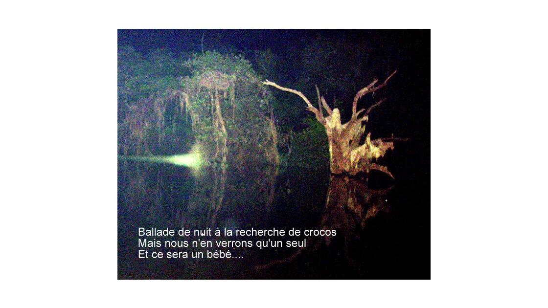 Ballade de nuit sur le fleuve