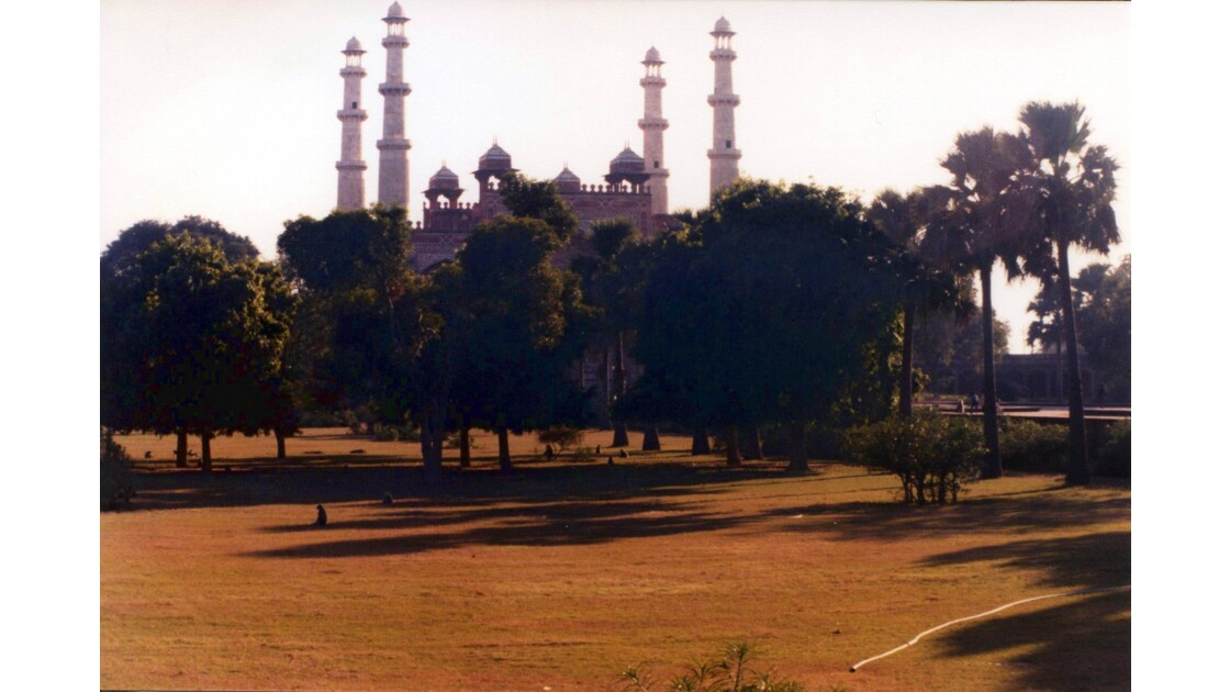 Les jardins du mausolée
