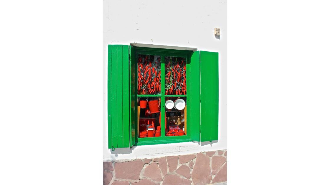 Fenêtre au pays basque
