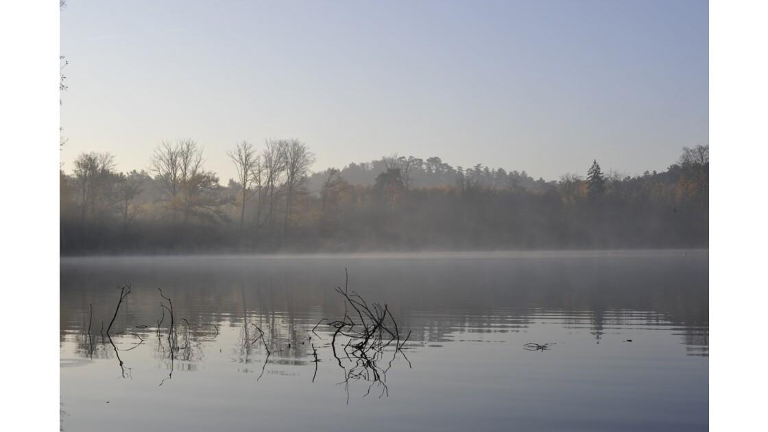 Millemont sous la brume