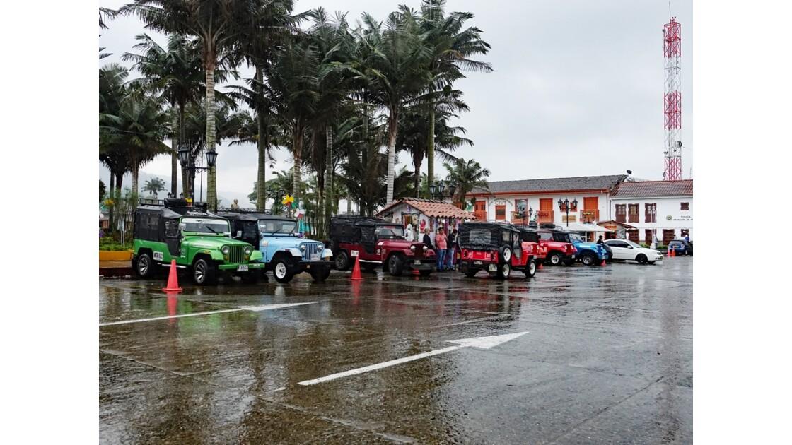 Colombie Salento Les Willys 1