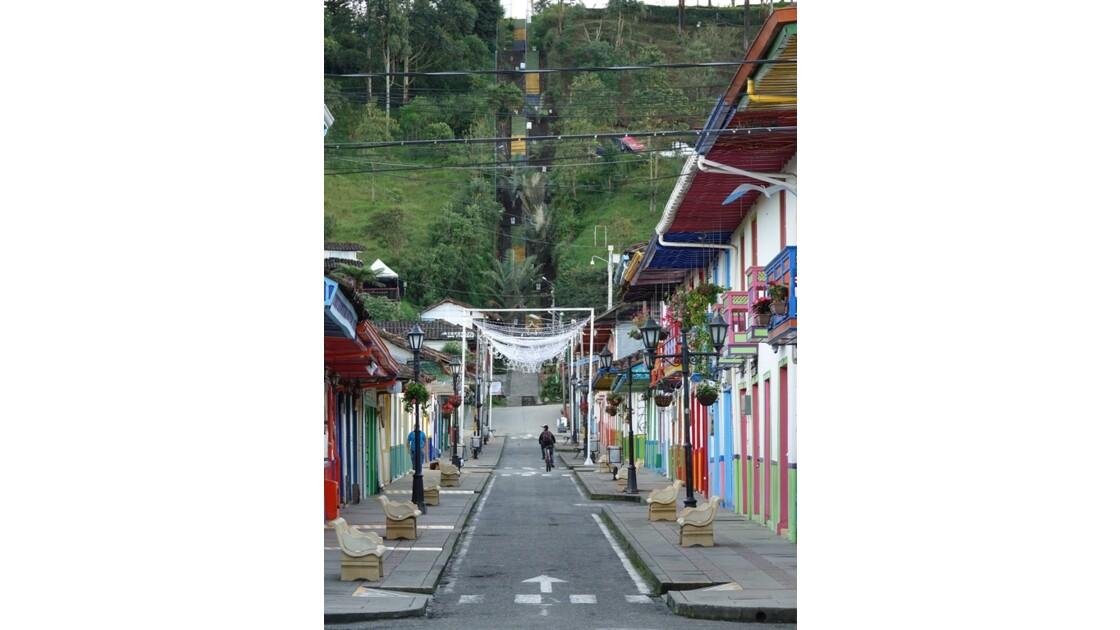Colombie Salento Au bout de la Calle Real 1