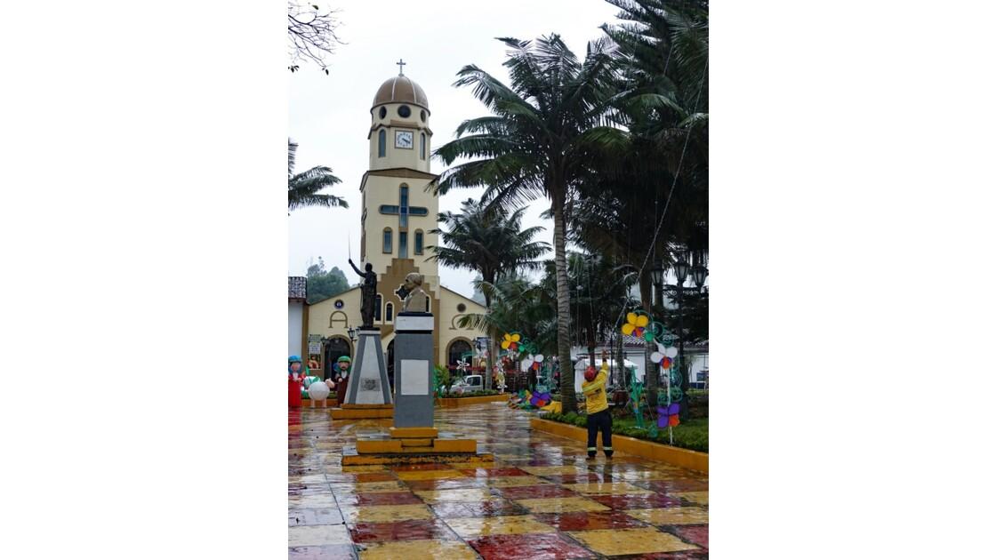 Colombie Salento L'église 4