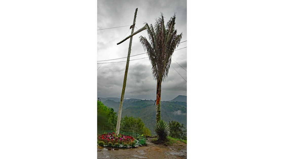 Colombie Salento Mirador d'Alto de la Cruz 1