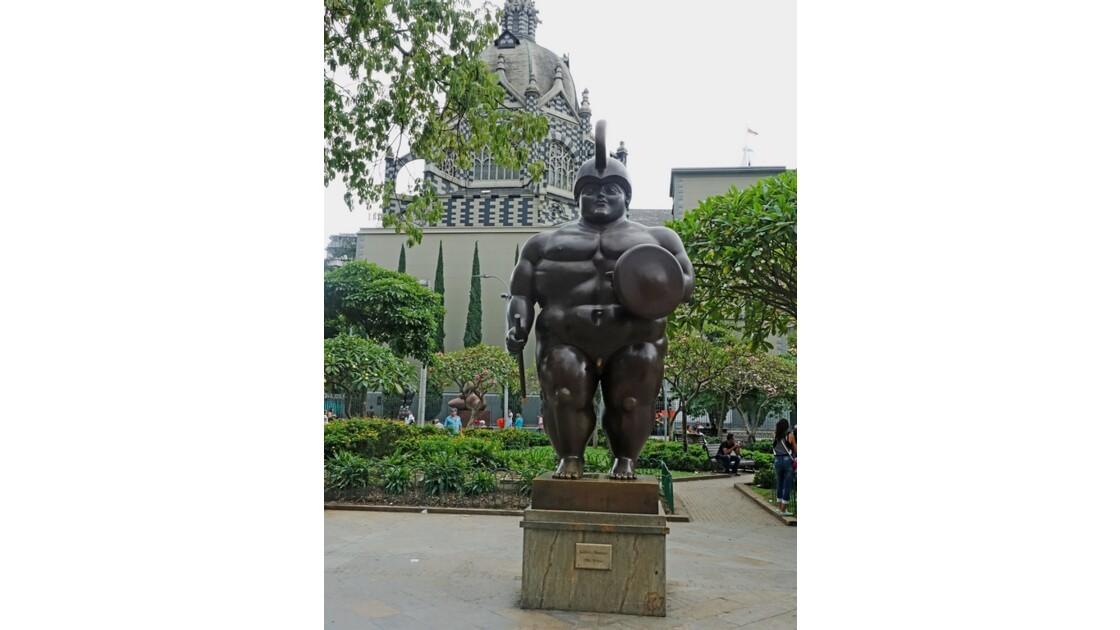 Colombie Medellin Place Botero Soldato romano