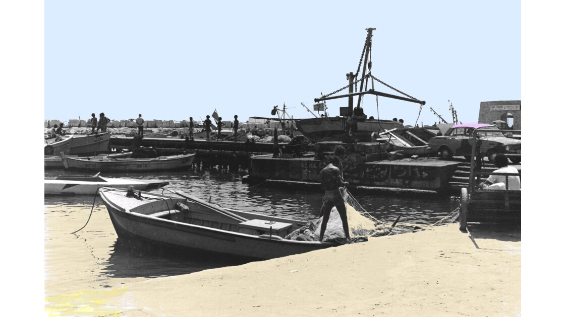 Le port d'Acre