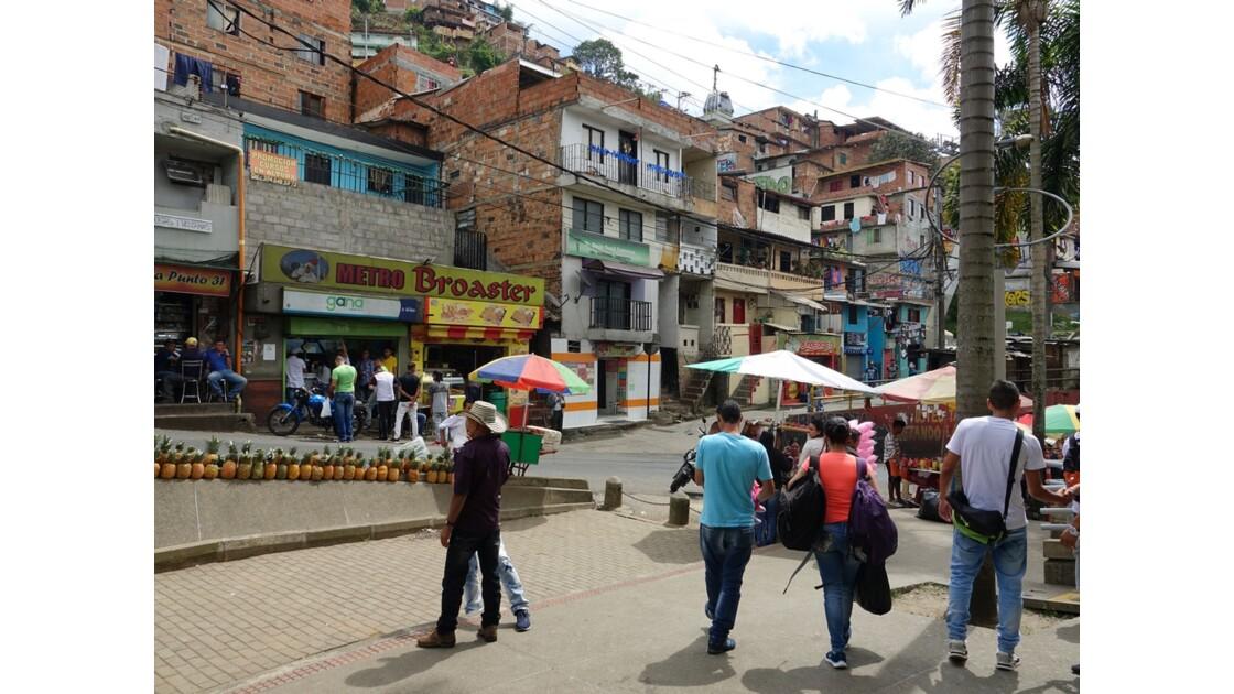 Colombie Medellin Barrio Santo Domingo 3