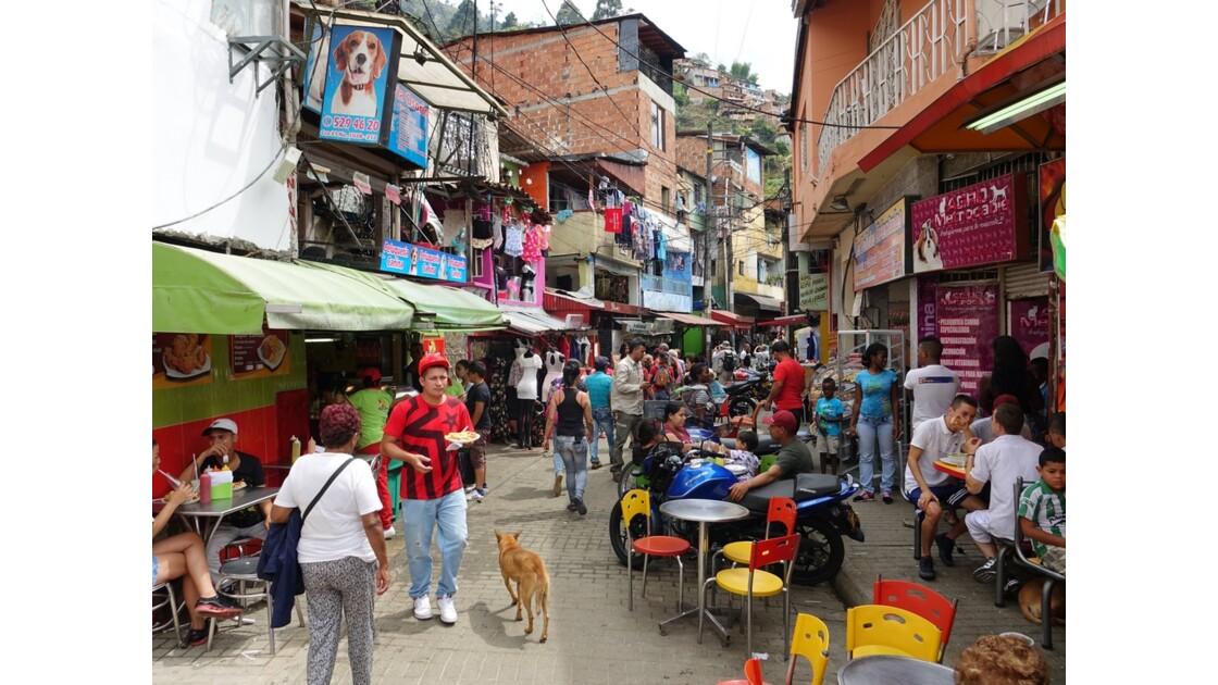 Colombie Medellin Barrio Santo Domingo 2
