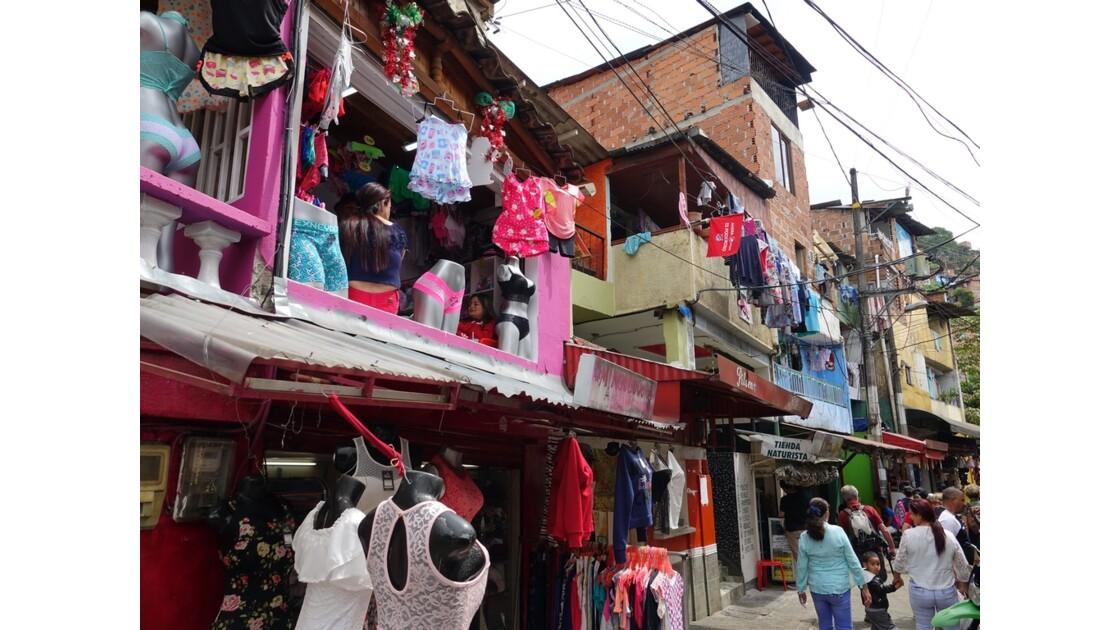 Colombie Medellin Barrio Santo Domingo 6