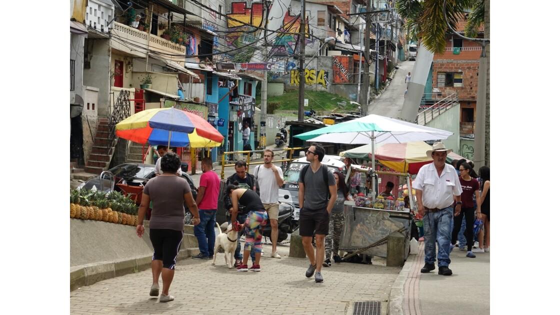 Colombie Medellin Barrio Santo Domingo 7