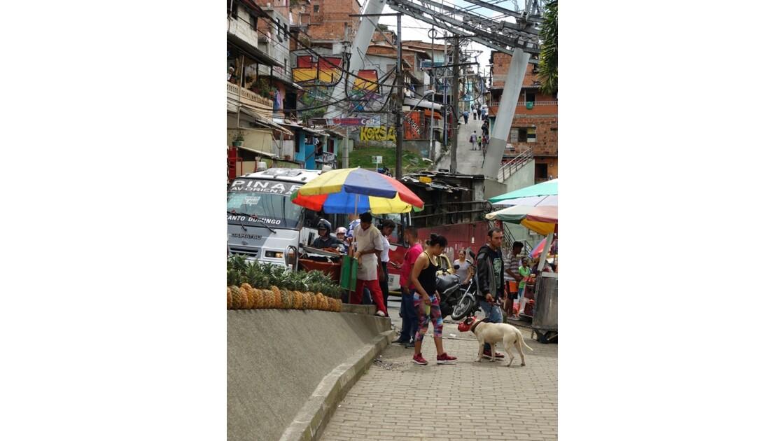 Colombie Medellin Barrio Santo Domingo 8