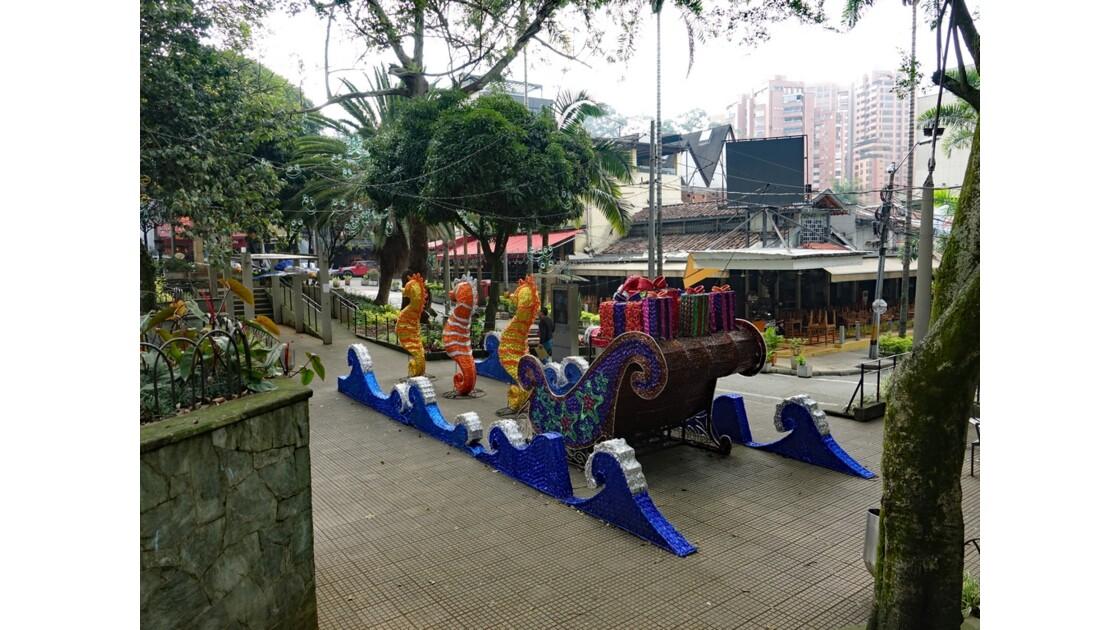 Colombie Medellin El Plobado Parque Lleras 5