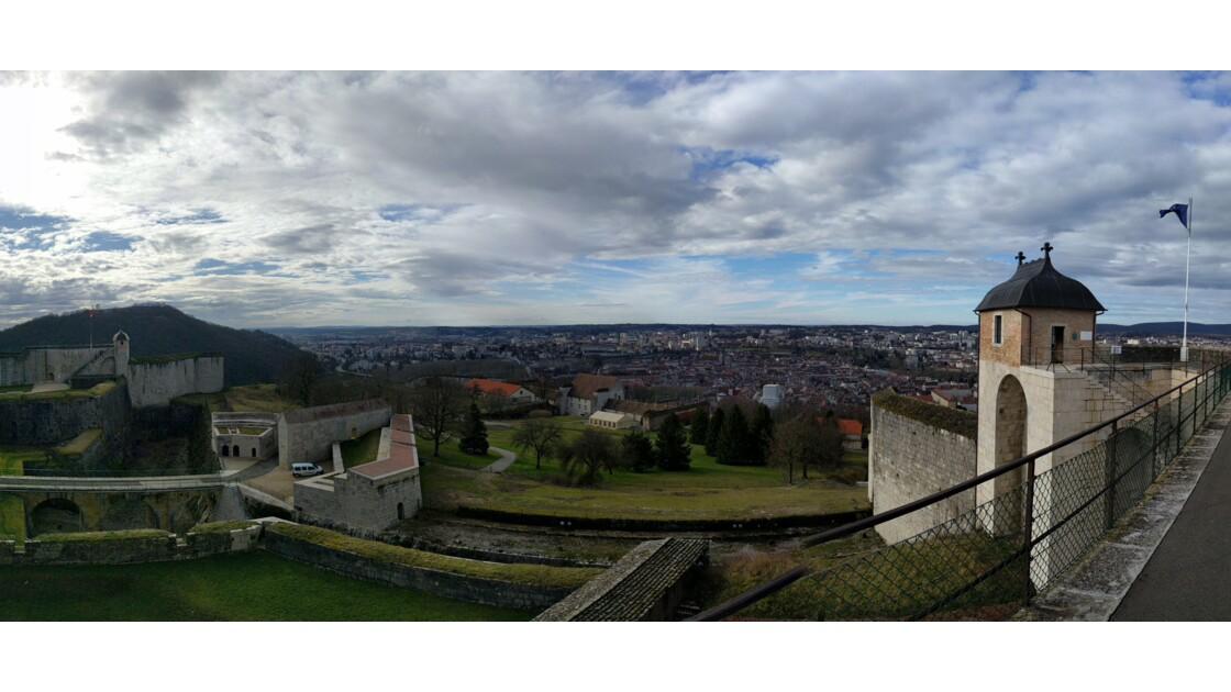 Panorama de la citadelle