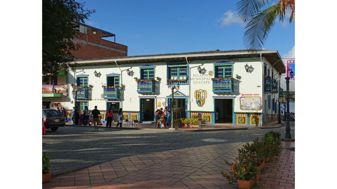 Colombie Guatapé Palais municipal 1