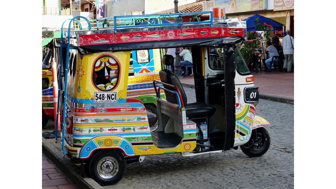 Colombie Guatapé Las motochivas 1