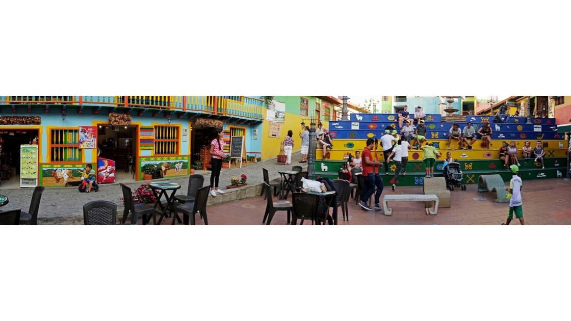 Colombie Guayapé plaza de los zocalos 1
