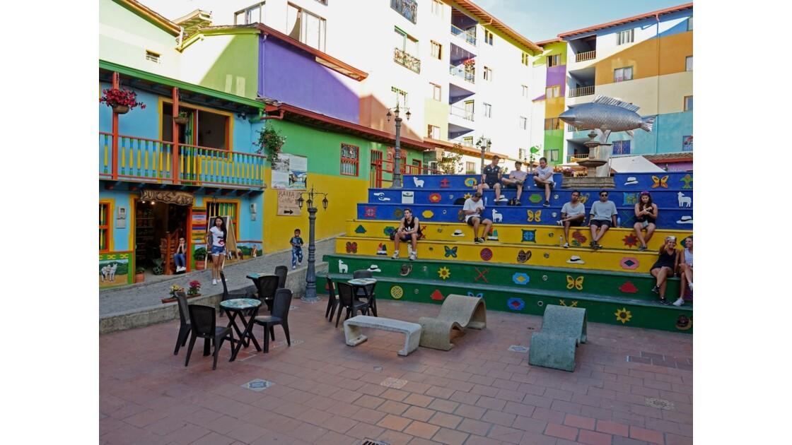 Colombie Guayapé plaza de los zocalos 2