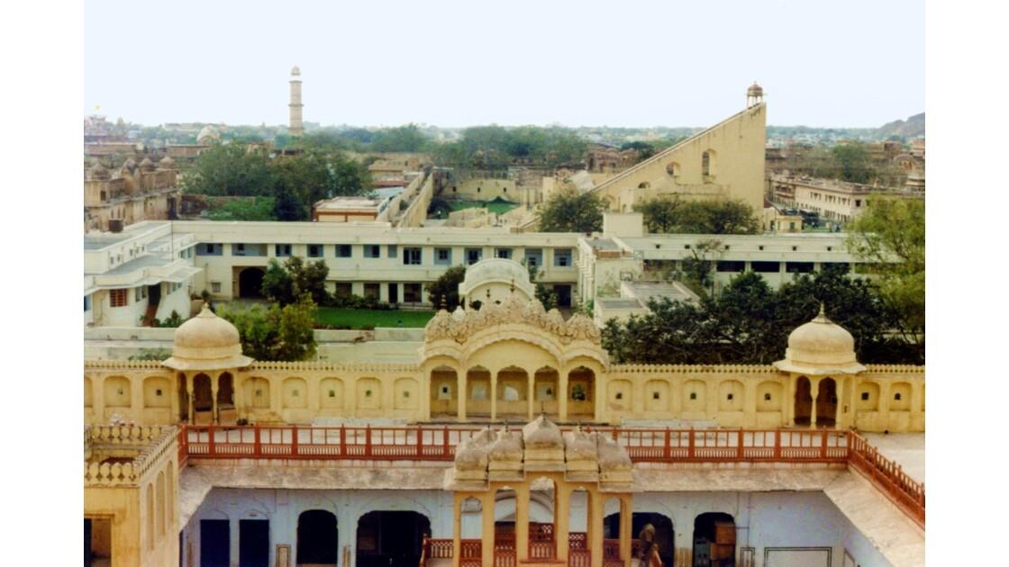 L'observatoire astromique de Jaïpur