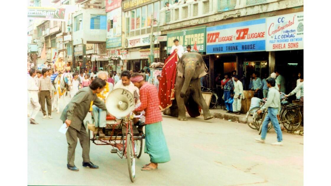 Parade sur Chandni Chowk