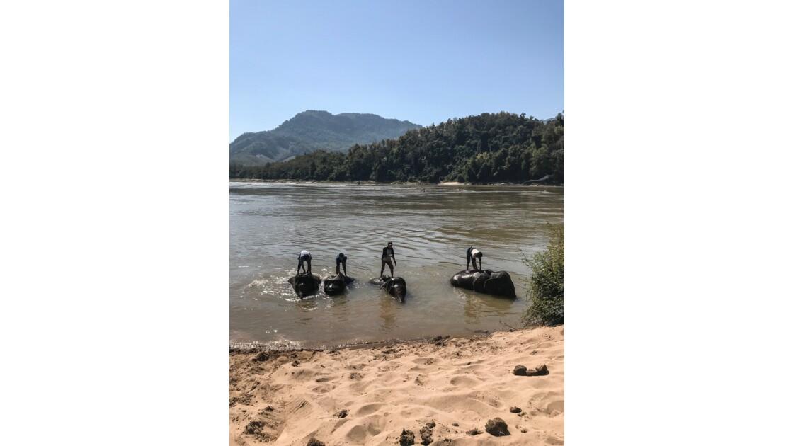 Aperçus du fleuve Mekong