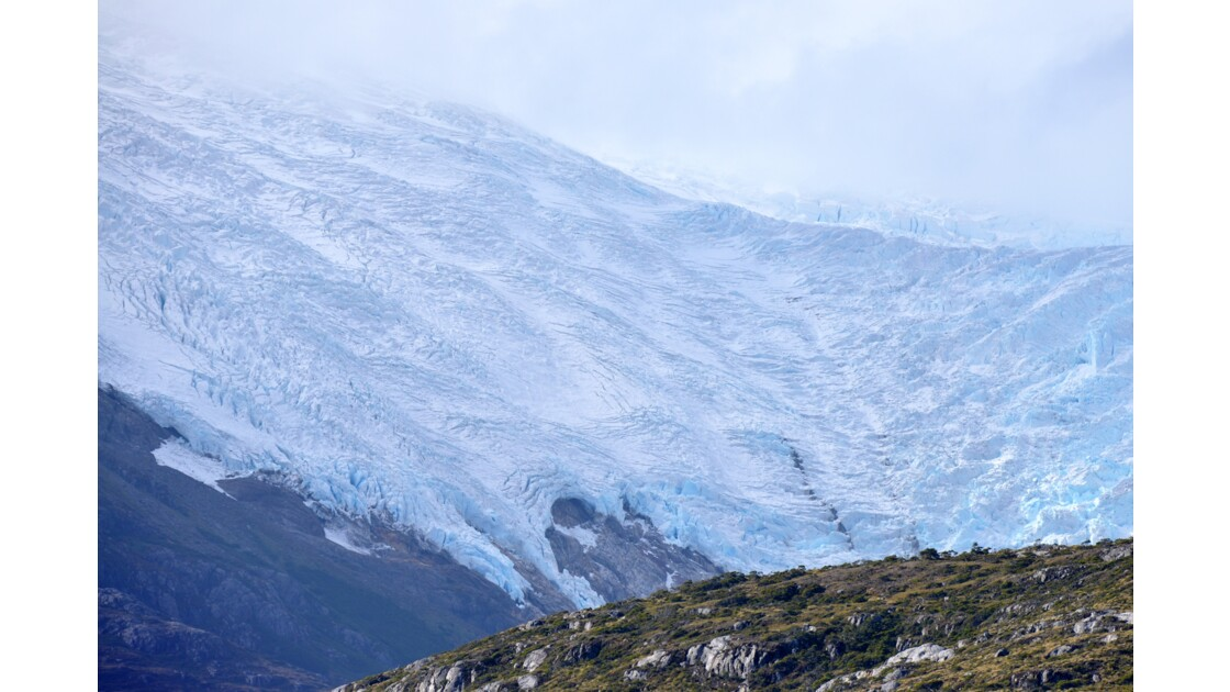Le glacier Holanda
