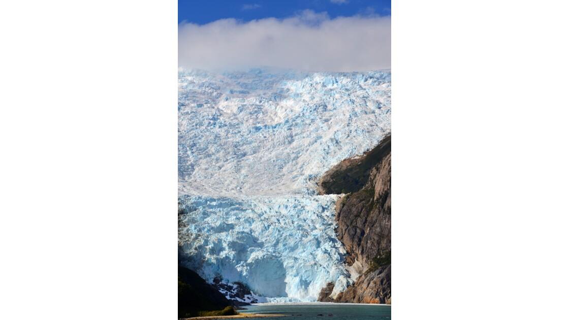 Le glacier Italia