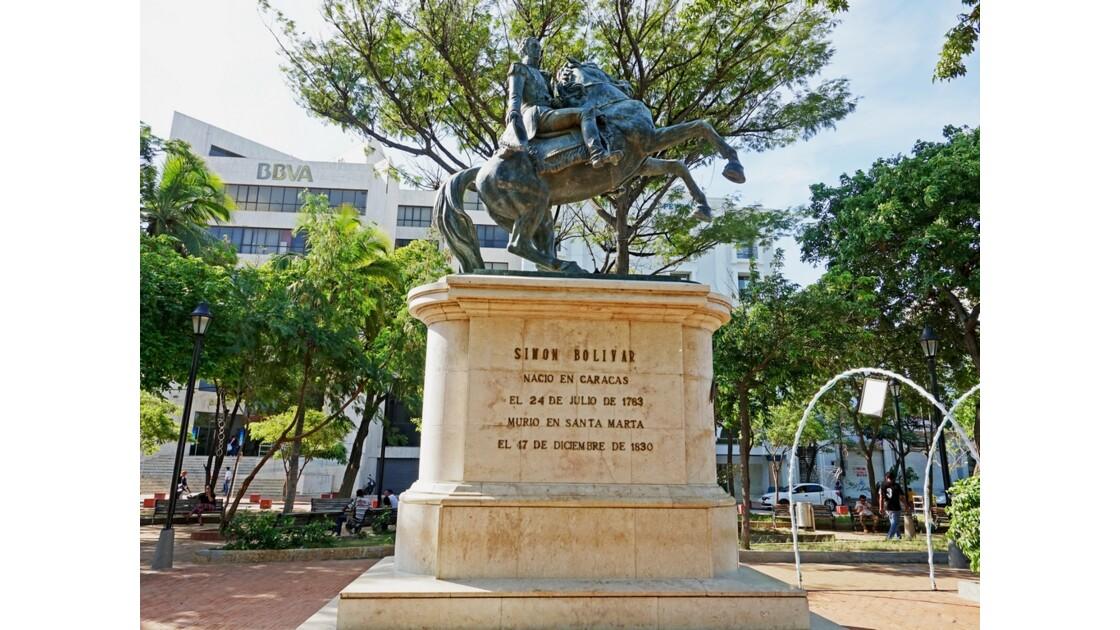 Colombie Santa Marta Plaza de Bolivar